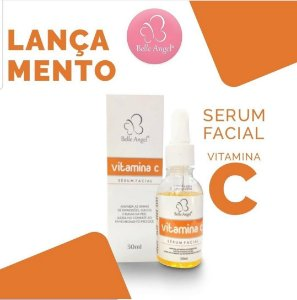 Serum Facial Combate Rugas e Linha de Expressão Vitamina C Belle Angel I027 - Unitario