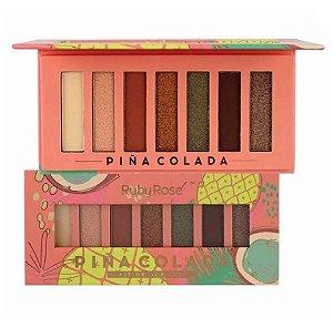 Paleta de Sombras Piña Colada Ruby Rose HB1055