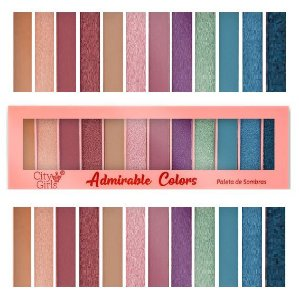 Paleta de Sombras 12 Cores Adorable Colors CG183 - Cor A
