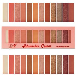 Paleta de Sombras 12 Cores Adorable Colors CG183 - Cor B