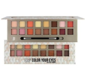 Paleta de Sombras Color You Eyes City Giel CG127 - Cor B