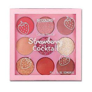 Paleta de Sombras Tropical SP Color SP222 A - Strawberry Cocktail