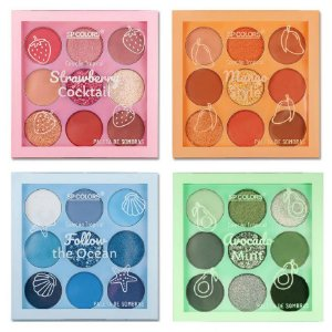 Paleta de Sombras Tropical SP Color SP222 - Kit C/ 8 unid