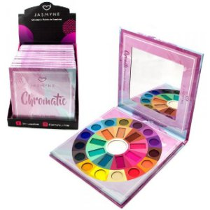 Paleta de Sombras Chromatic Jasmyne JS06019 - Display C/ 12 Unid