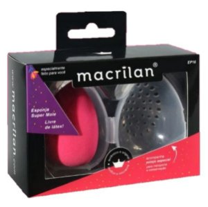 Esponja de Maquiagem e Suporte com Ventilação EP16 - Kit C/ 6 Unidades