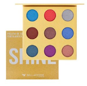 Paleta de Sombras com Espelho Luxo Shine Premium Collection BF10069