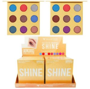 Paleta de Sombras Shine Premium Collection BF10069 - Display C/ 12 Unid