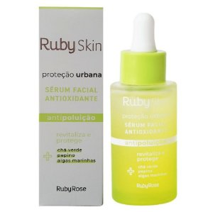 Sérum Facial Antioxidante Proteção Urbana Skin Care Ruby Rose  HB415