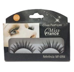 Cilios Postiços Miss france MF6994-010 - Display C/ 10 pares