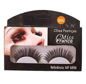 Cilios Postiços Miss france MF6994 (006) - Display C/ 10 pares