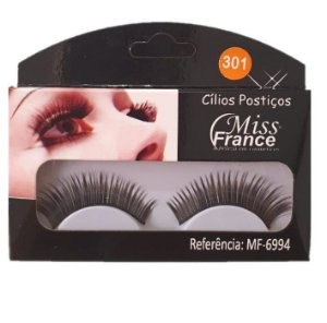 Cilios Postiços Miss france MF6994 (301) - Display C/ 10 pares