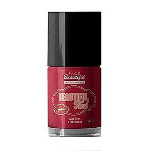 Lip Tint Beautiful Tint Face Beautiful FB129 - RED