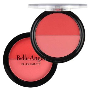 Blush Duo Matte Belle Angel B017 - Cor 1