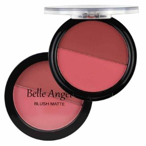 Blush Duo Matte Belle Angel B017 - Cor 2