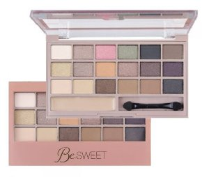 Paleta de Sombras Ruby Rose Be Sweet 18 Cores HB9923