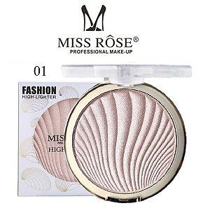 Iluminador Facial Brilho Intenso Miss Rose 7001-043M1 - Cor M1