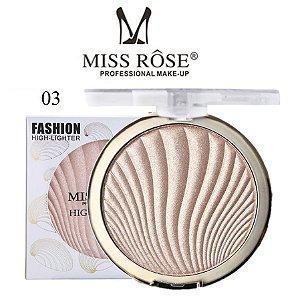 Iluminador Facial Brilho Intenso Miss Rose 7001-043M3 - Cor M3