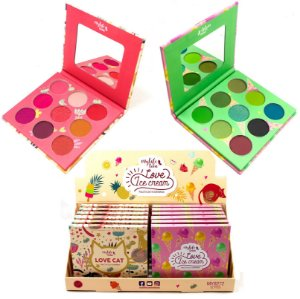 Paleta de 9 Sombras Fruits Mylife MY8272 B - Display com 12 unidades