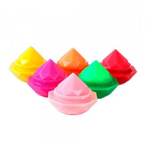 Lip Balm Hidratante Labial Diamond Mylife MY7131 - Kit C/ 6 Unidades