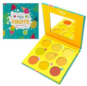 Paleta de 9 Sombras Fruits Mylife MY8272B - Paleta Fruits