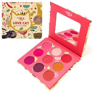Paleta de 9 Sombras Fruits Mylife MY8272 - Love Cat