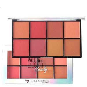 Bella Femme - Paleta de Blush Candy 8 Tons  BF10057