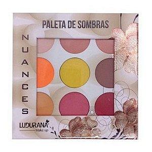 Paleta de Sombras 9 Cores Ludurana Nuance B00003