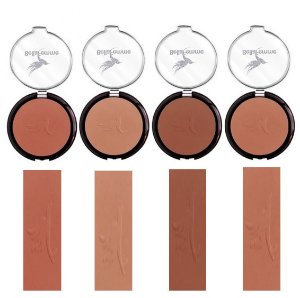 Blush Compacto 4 Tons Bella Femme BF10011 - Kit C/4 Unidades