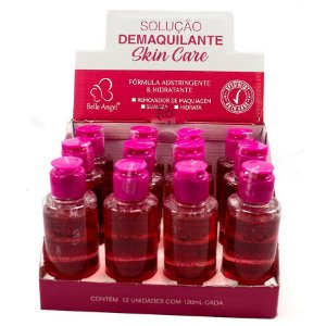 Belle Angel - Solução Demaquilante Skin Care I020 - Display com 12 unidades