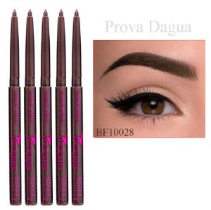 Bella Femme - Lápis de Sobrancelha Retrátil Dark Brown BF10028 - 12 Unidades