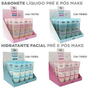 Combo 48 Itens Pré e Pós Make Face Beautiful - 4 Box ( FB179 / FB180 / FB181 / FB182 )