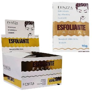 Fenzza - Esfoliante Facial Fenzza Sachê 10g FZ38006 - Display com 50 unidades