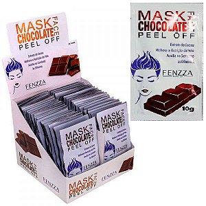Máscara Facial Anti Olheiras Mask Sachê 10g Fenzza FZ38018 - Display C/ 50 Unid