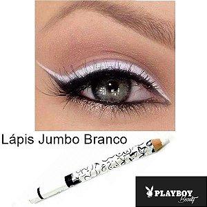 Lápis Carbon Kajal Branco Playboy HB94744PB ( VCTO 06/21 ) - Kit com 12 Unidades