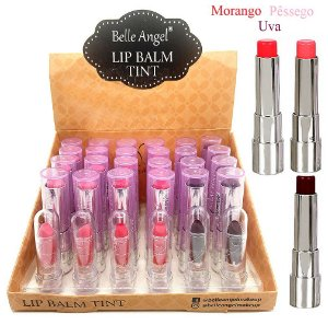 Lip Balm Tint Hidratante Belle Angel T051 - Display C/ 24 unid