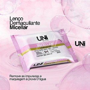 Lenço Demaquilante Micelar Uni Makeup - Kit C/ 6 Unid