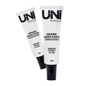 Primer Facial Hidratante com Vitamia E / Oil Free Uni Make Up