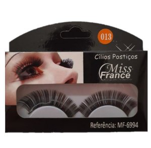 Cilios Postiços Miss france MF6994 (013) - Display C/ 10 pares