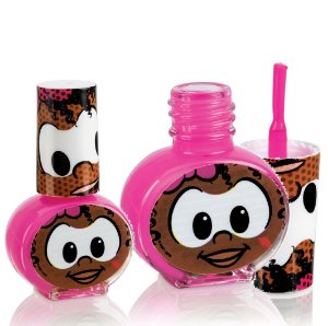 Esmalte Infantil Hipoalergenico a Base de Agua Turma da Monica -  Cor Rosa em Cartela