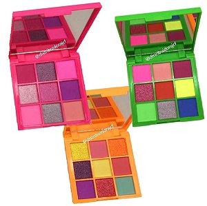 Paleta de Sombras Neon Bolt Bella Femme BF10097 – Kit C/ 3 Unid