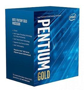 Processador Intel Pentium G5400 Socket LGA 1151 3,70 Ghz Box com Cooler Coffee Lake 8ª Geração - BX80684G5400