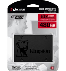 "SSD Kingston A400 480GB 2.5"" Sata 3 SA400S37/480G"