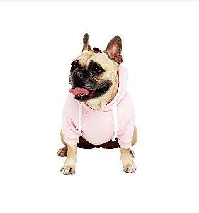 """Moletom para Cachorros """"BOO"""" Rosa"""