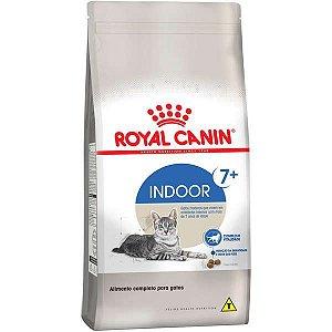 Ração Royal Canin Indoor 7+ Para Gatos Adultos