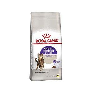 Ração Royal Canin Sterilised Appetite Control Para Gatos Adultos Castrados