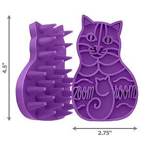Escova de Borracha Zoomgroom para Gatos
