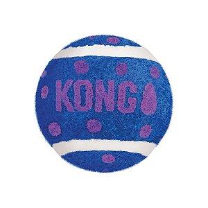 Brinquedo Kong Cat Active Bolas de Tênis com Sinos para Gatos