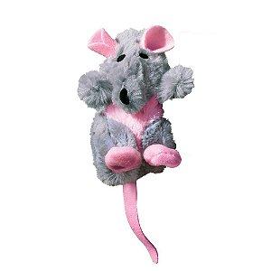 Brinquedo Kong Refillables Rat Recarregável para Gatos