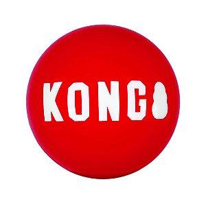 Brinquedo Kong Signature Ball para Cães