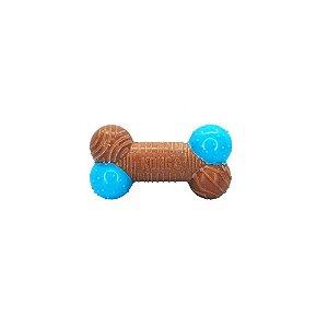 Brinquedo Interativo Kong Corestrength Bamboo Bone para Cães